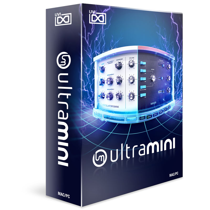 UVI ULTRAMINI ダウンロード版 在庫限りの限定特価!安心の日本正規品!