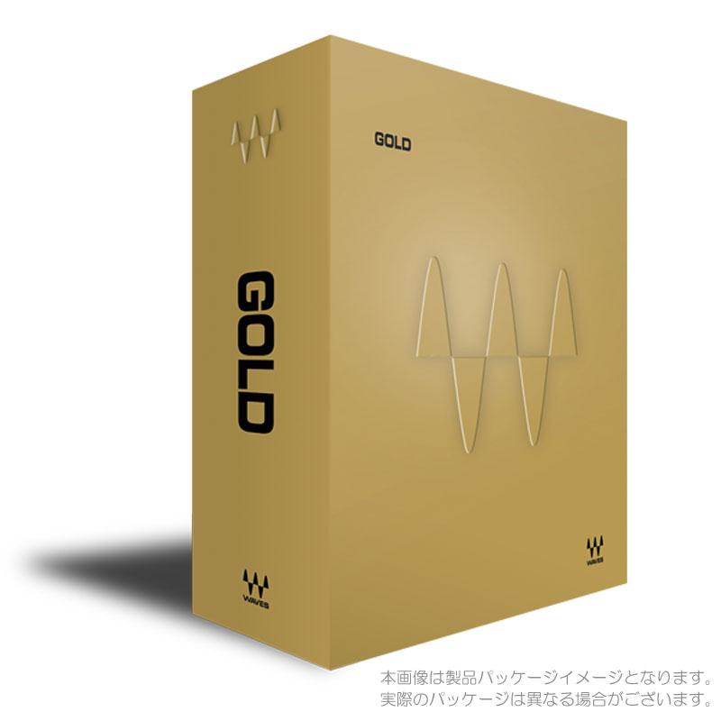 WAVES GOLD BUNDLE ダウンロード版 安心の日本正規品!