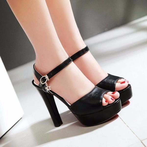 サンダル ハイヒール 12cmヒール ピンヒール レディース 靴 女性 大人 春夏 さんだる ブラック di498zec6kc【返品不可】「他の商品と同梱不可」/代引き不可