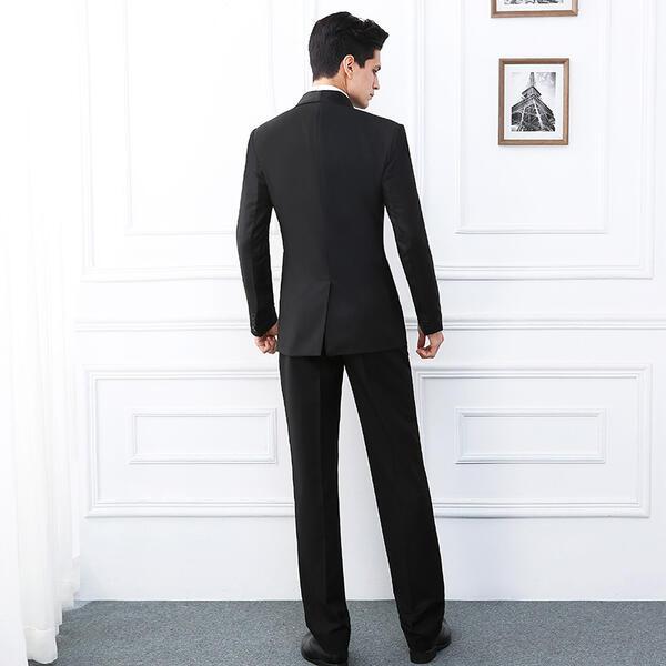 5d05c7afe26db サイズ有S M L XL 2XL メンズ スーツ 結婚式 パーティ 司会者 演奏会 ...