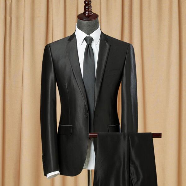 【期間限定!マスクプレゼント中】1ボタン スリム スーツ 2ボタン スリム ビジネス シングル メンズ 紳士服 suit ベスト