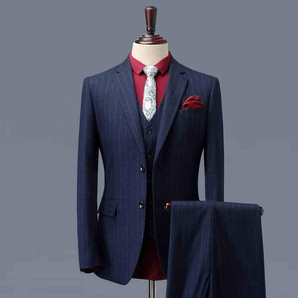 【サイズ有S~4XL】1ボタンスリムスーツ ビジネススーツ シングル メンズスーツ 紳士服 suit ブルースーツ メンズ大きいサイズおしゃれスーツ 春 夏 細身 結婚式 オシャレdg045g4g4d4/代引き不可