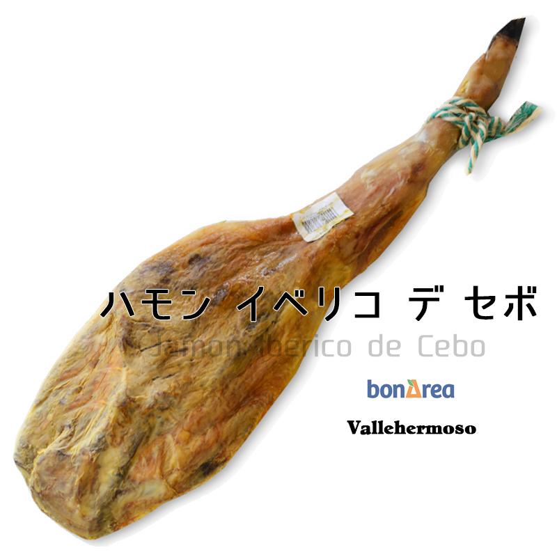 ハモンイベリコ デ セボ 熟成24ヶ月 スペイン産 生ハム 原木 [不定貫 重量]約7.0kg ~ 8.5kg