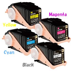 【ポイントアップ中】エプソン LPC3T35KCMY [4色セット] Mサイズ[EPSONリサイクルトナー]LP-S6160【安心保証】【送料無料】