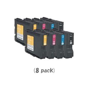 【ポイントアップ中!】【即納】リコー GC21KCMY(Mサイズ)[4色セット]×2パック [RICOHリサイクルインク] IPSiO GX 2500 GX 3000 GX 5000 GX 7000【あす楽対応】【安心保証】【送料無料】