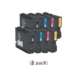 【ポイントアップ中!】【即納】リコー GC21KCMYH(Lサイズ)[4色セット]×2パック[RICOHリサイクルインク] IPSiO GX 5000 GX 7000【あす楽対応】【安心保証】【送料無料】