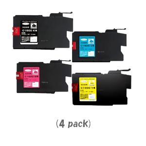 【ポイントアップ中!】【即納】リコー MP-C1500[4色セット]×1パック[RICOHリサイクルインク]imagio MP C1500【あす楽対応】【安心保証】【送料無料】10P03Dec16
