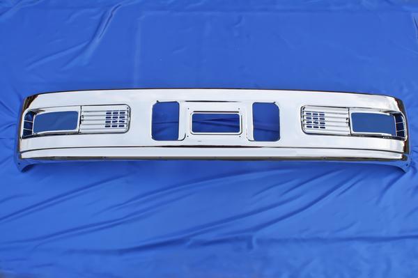 三菱ふそう スーパーグレート 600H用 メッキ フロント バンパー & ガーニッシュ