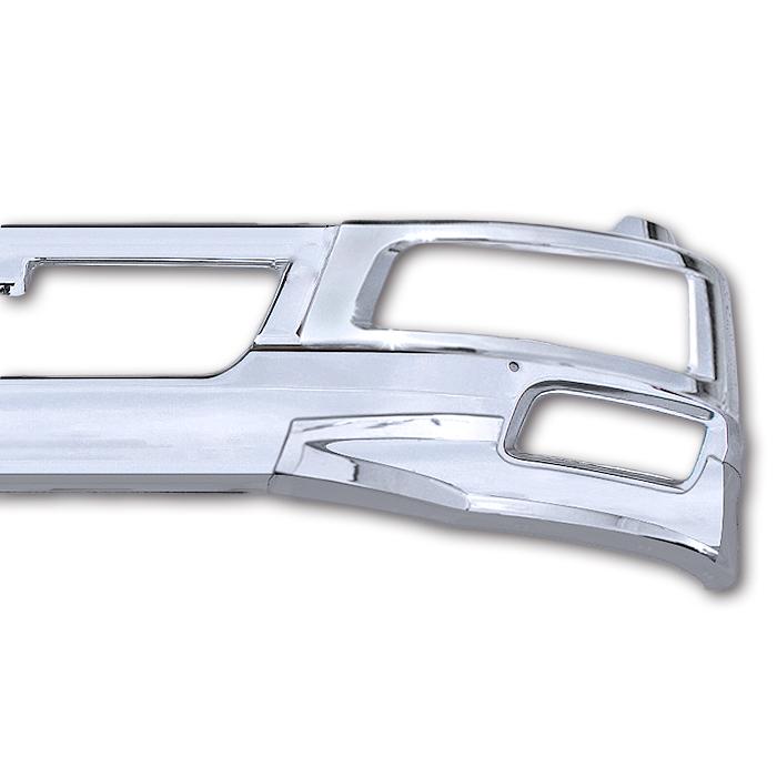 三菱ふそう ベストワン ファイター 標準用 メッキ フロント 3点セット バンパー ヘッドライトカバー リップスカート