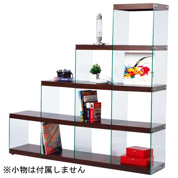 インテリア家具 ステアラック4D HAB-703BR 【代引不可】【同梱不可】