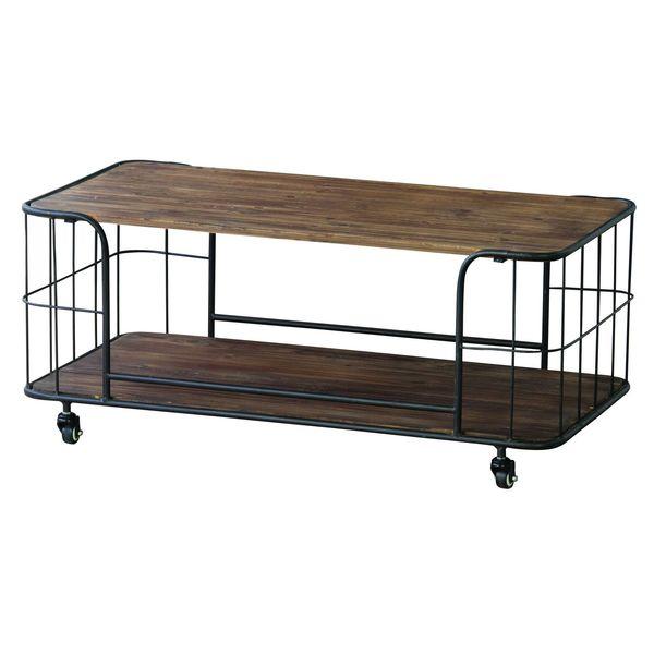 センターテーブル ローテーブル AZUMAYA IW-994 おしゃれ デザイン家具 インテリア 家具 【05P28Sep16】【同梱不可】