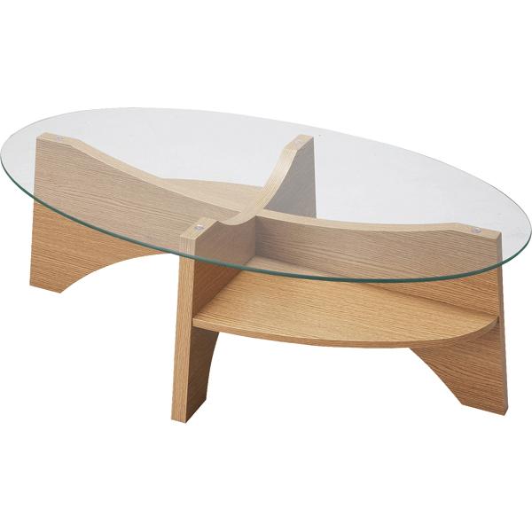 インテリア家具 オーバルテーブル LE-454NA【代引不可】【同梱不可】