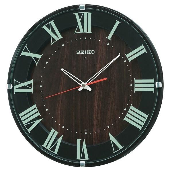 SEIKO セイコー 掛け時計 ナチュラル スタイル KX397B 電波掛け時計