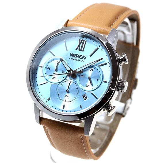 [ワイアード]WIRED 腕時計 WIRED クロノグラフ ペアモデル クロノグラフ 10気圧防水 AGAT415 メンズ