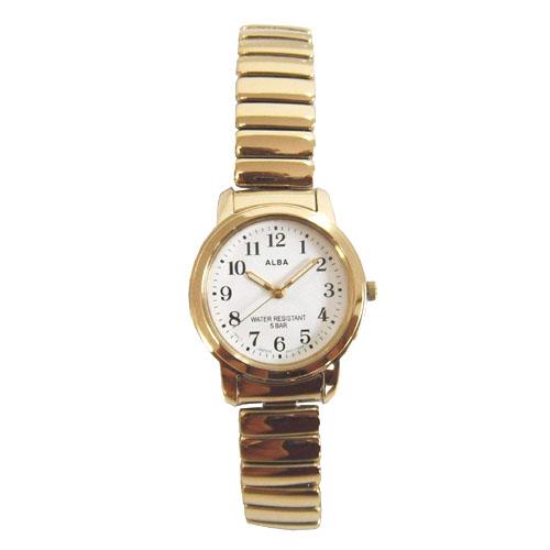 セイコー SEIKO アルバ 腕時計 AEGS924 伸縮 ジャバラ エクスパンション