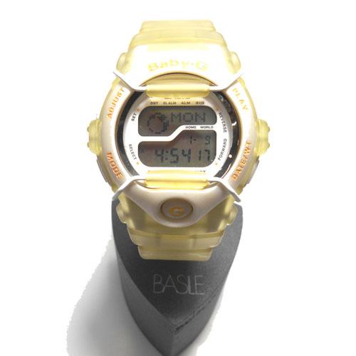 CASIO (カシオ) Baby-G 98 FRANCE WORLD CUP BGT-100WF-4BT クリアオレンジ【限定モデル】
