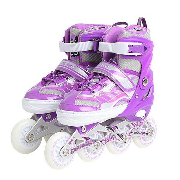 入荷予定 ローラースケート プッシュでサイズ調整可能 インラインローラー キッズ 子供から大人まで インラインスケート 誕生日 子供用 クリスマスプレゼント ハイグレードモデル ついに入荷 ジュニア