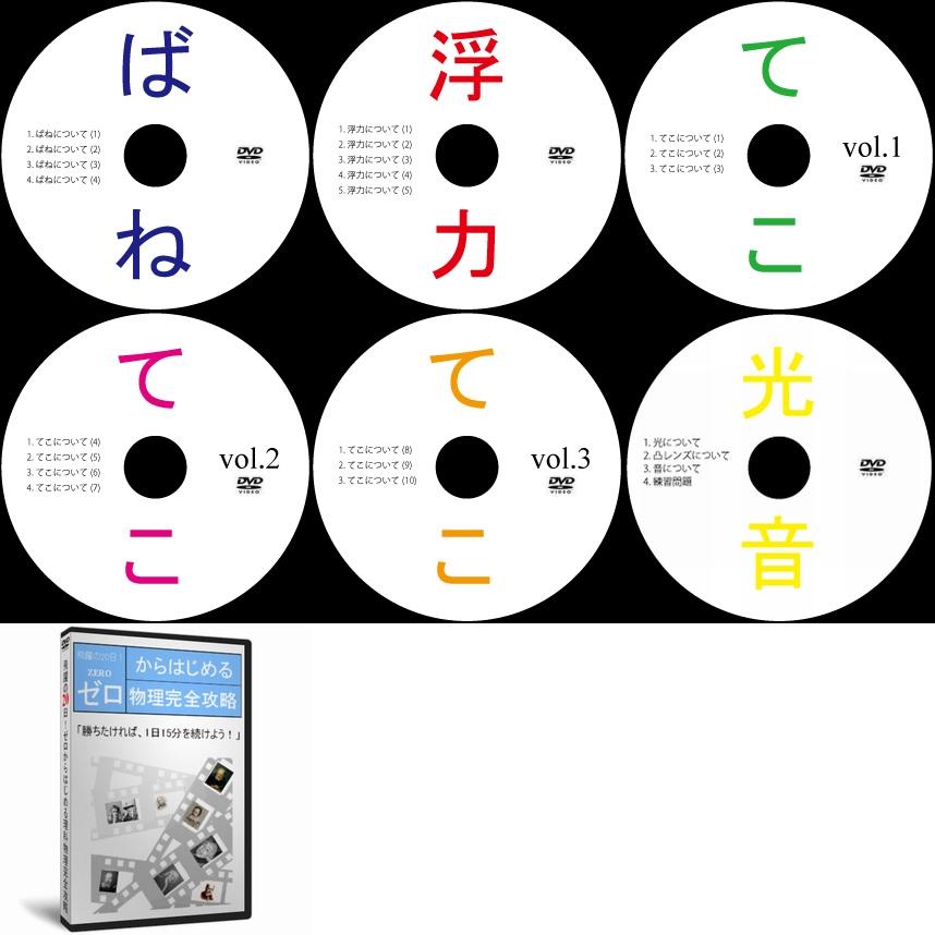 中学受験理科物理DVD全6枚