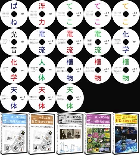 中学受験理科フルセットDVD全18枚