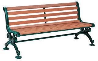 【送料無料】木製ベンチ 肘なし 150cm 腐りにくい木製ベンチ!公園、テーマパーク、イベント会場、商業施設、大学キャンパスに。 【いまだけポイント10倍】テラモト 木製ベンチ ベンチスワール1500 (肘なし) BC-303-115-1