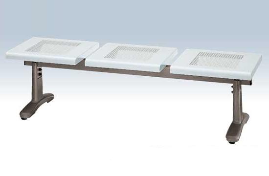 【いまだけポイント10倍】コンドル ベンチ 金属製 屋内 屋外 150cm パンチングベンチ YB-56L-ID (背なし)
