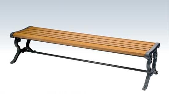 【いまだけポイント10倍】コンドル ベンチ 屋内用 屋外用 木製 背なし 180cm ベンチ YB-74L-WN 背なしECO