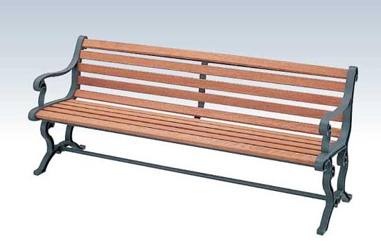 【いまだけポイント10倍】コンドル ベンチ 屋内用 屋外用 木製 180cm ベンチ YB-77L-WN 背付肘付