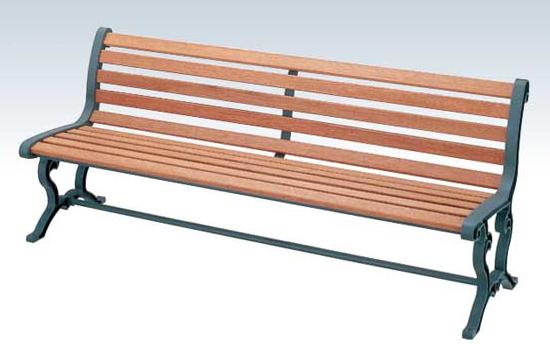 【いまだけポイント10倍】コンドル ベンチ 屋内用 屋外用 木製 180cm ベンチ YB-78L-WN 背付肘なし