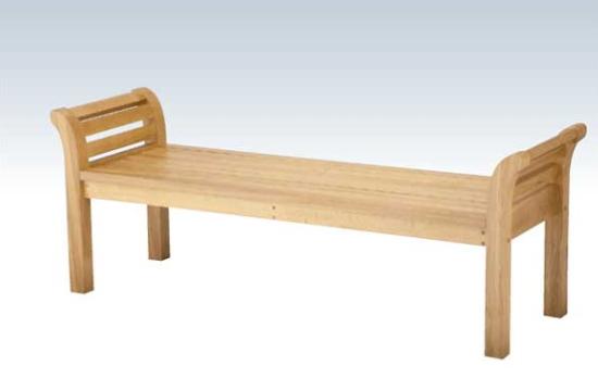 【送料無料】ベンチ 屋内用 木製 背なし 幅160cm オーク材を使用した屋内用ベンチ。ショッピングモールなどに。 【いまだけポイント10倍】コンドル ベンチ 屋内用 木製 背なし 160cm ベンチ YB-81L-WN OK-1600(背なし)
