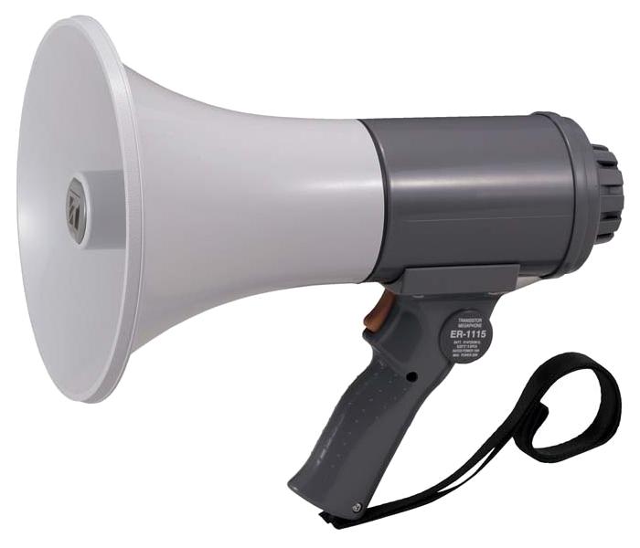 【いまだけポイント10倍】拡声器 中型 TOA ER-1115