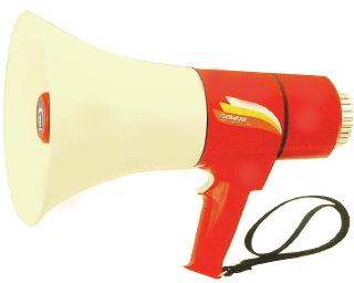 【いまだけポイント10倍】ハンドマイク 拡声器 13W(拡声機能のみ) ノボル電機 TM-201