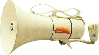 【いまだけポイント10倍】拡声器 ショルダーメガホン 13W (ホイッスル音付き)ノボル電機 TM-208