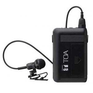 【いまだけポイント10倍】TOA ワイヤレスマイク タイピン型 WM-1320