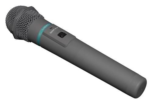 【いまだけポイント10倍】ユニペックス ワイヤレスマイク ハンドマイク型 WM-3400