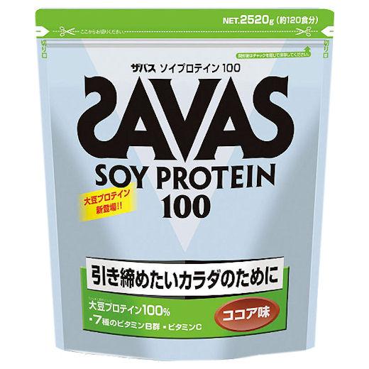 zabasu(SAVAS)大豆蛋白质100个核心风味(120顿饭分2,520g)CZ7444[SAVAS/大豆蛋白质/身体制造系列]