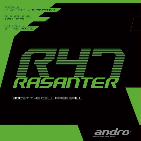 안드로(andro) RASANTER R47 라잔타아르 47 러버 112288뒤소프트 러버