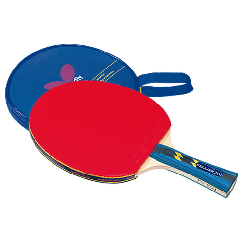 Fellow 200 Butterfly table tennis racket starting rubber paste up B-16120 table tennis equipment * 270301
