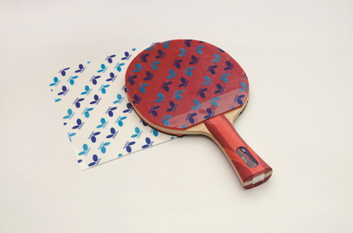 Adhesion film 2 two pieces one set butterfly 75270 for the table tennis rubber maintenance rubber protection ※261121
