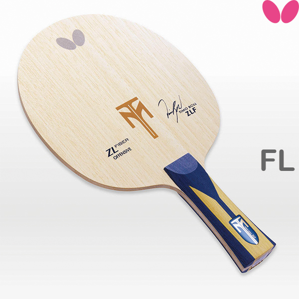 ティモボルZLF シェークハンド FL(フレア) BUTTERFLY 【あす楽】バタフライ 35841 卓球ラケット