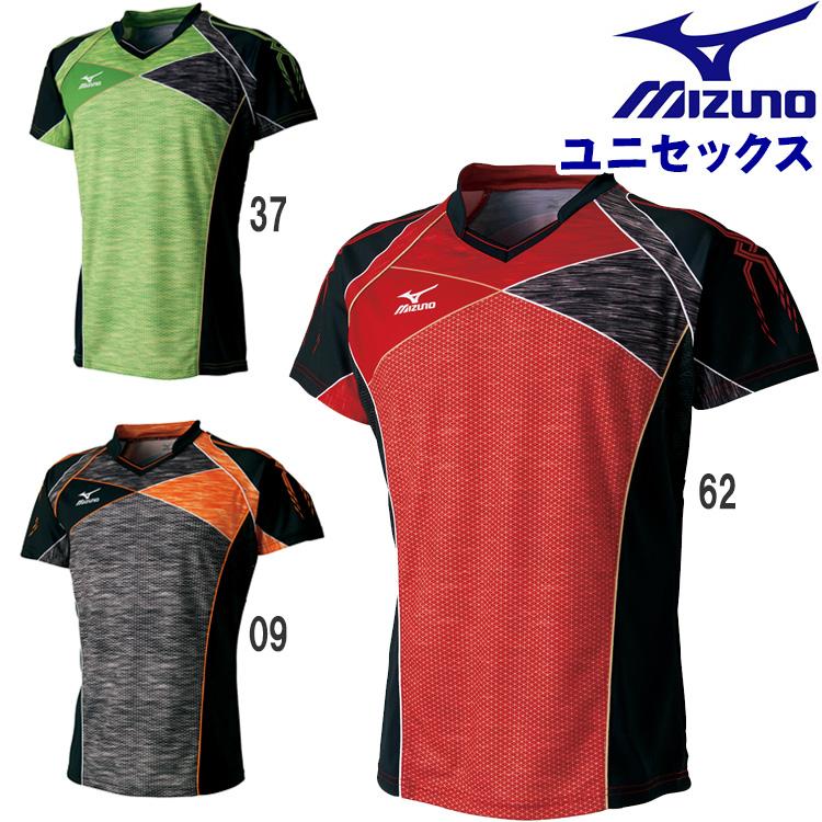 ミズノ mizuno ゲームシャツ(ユニセックス) 卓球ウェア メンズ レディース 82JA7001