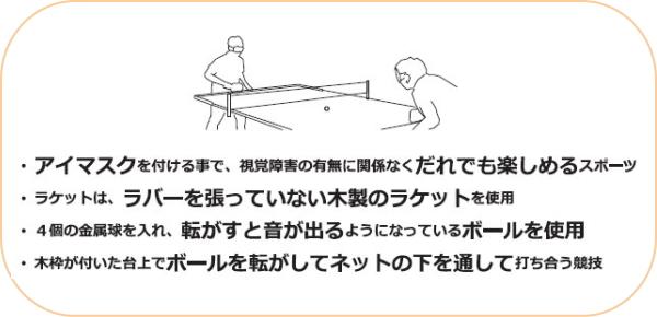 Nettag (尼) prasound (为盲人乒乓球) 球 3 星 3 件与塑料球网球球 NB-1610