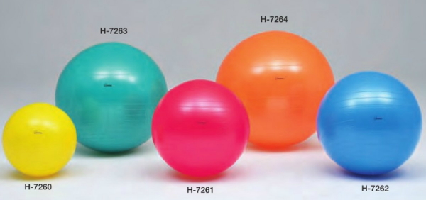 Body Ball 65 Cm Blue Anti Burst Types They H 7262 Exercise