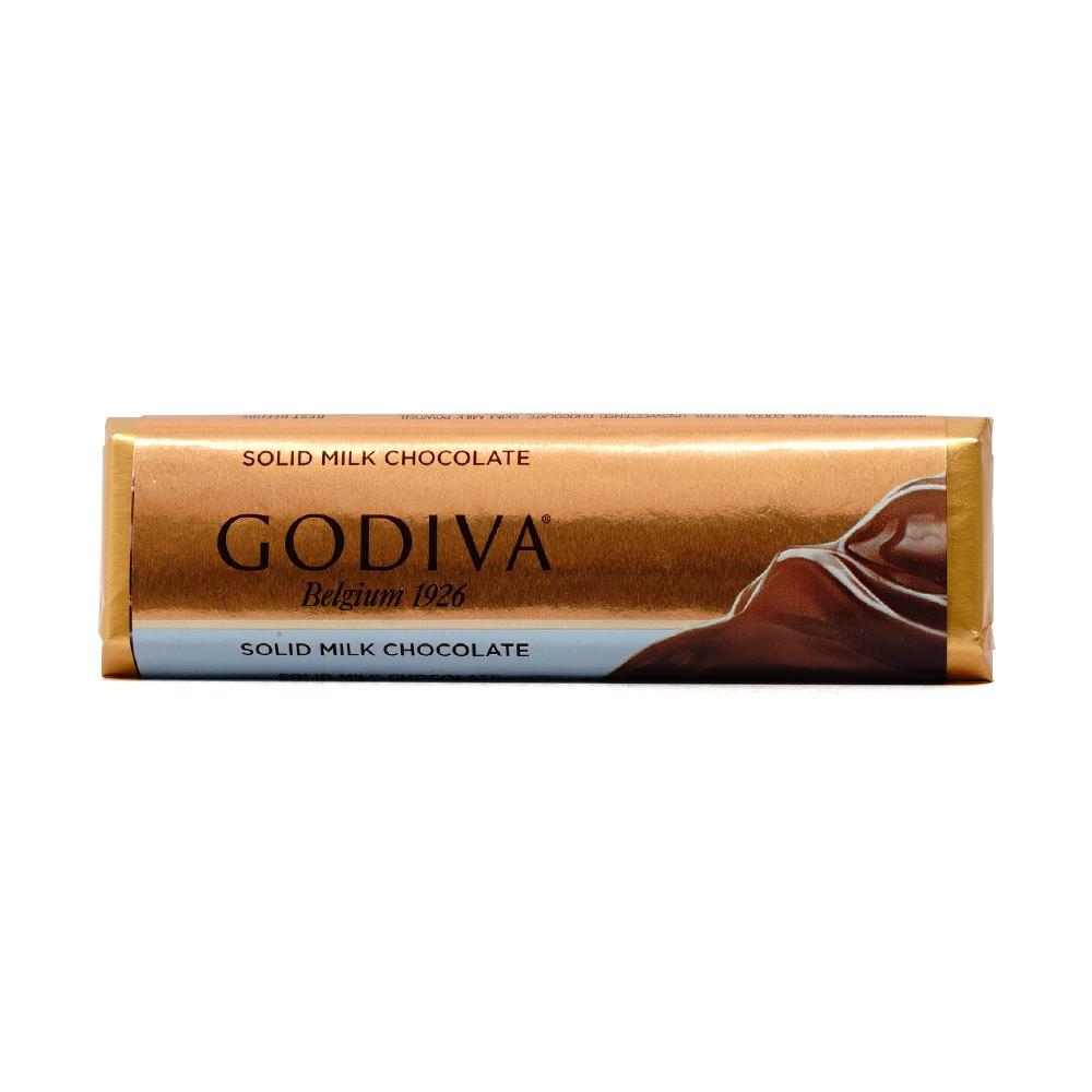 ★送料無料★ゴディバ ソリードミルクチョコレートバー43 g【GODIVA】Solid Milk Chocolate Bar  1.5 oz