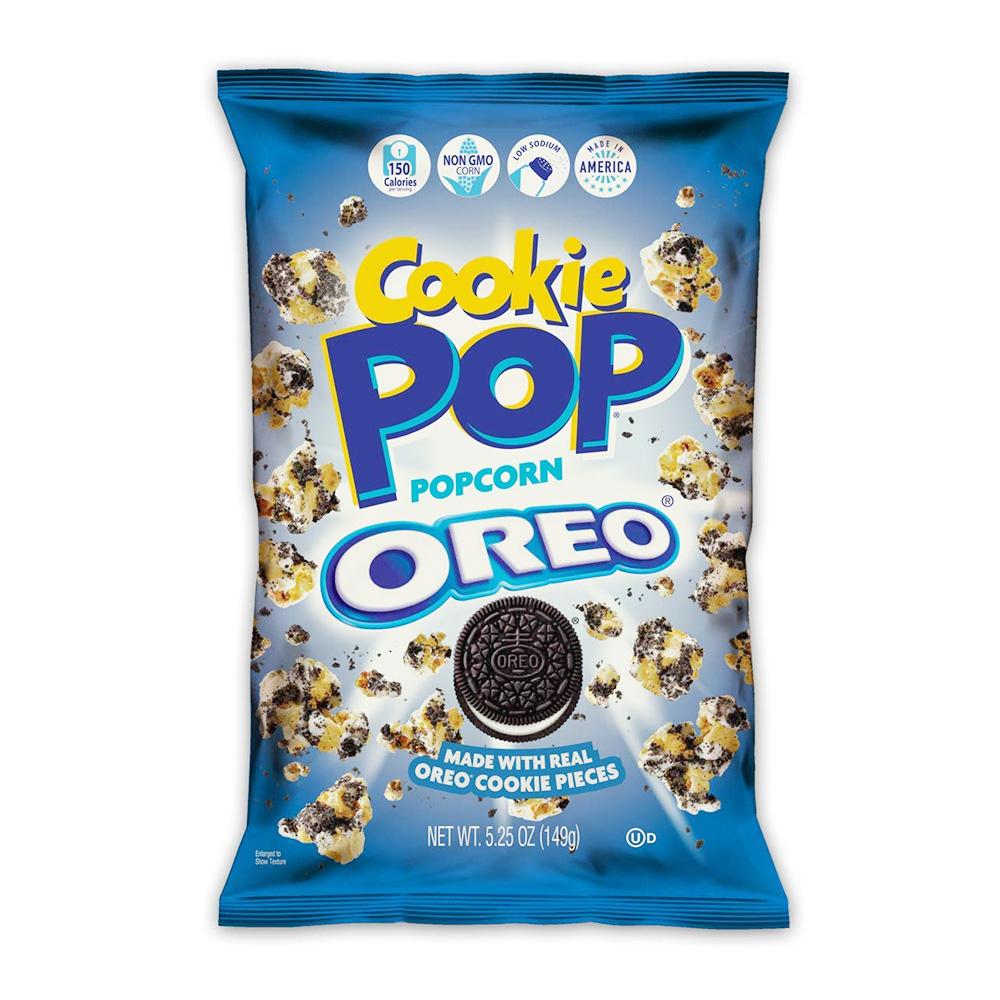 送料無料 スナックポップ クッキーポップ ポップコーン いつでも送料無料 新生活 オレオ 149g お菓子 5.25 Cookie Pop Snack Oreo Popcorn oz