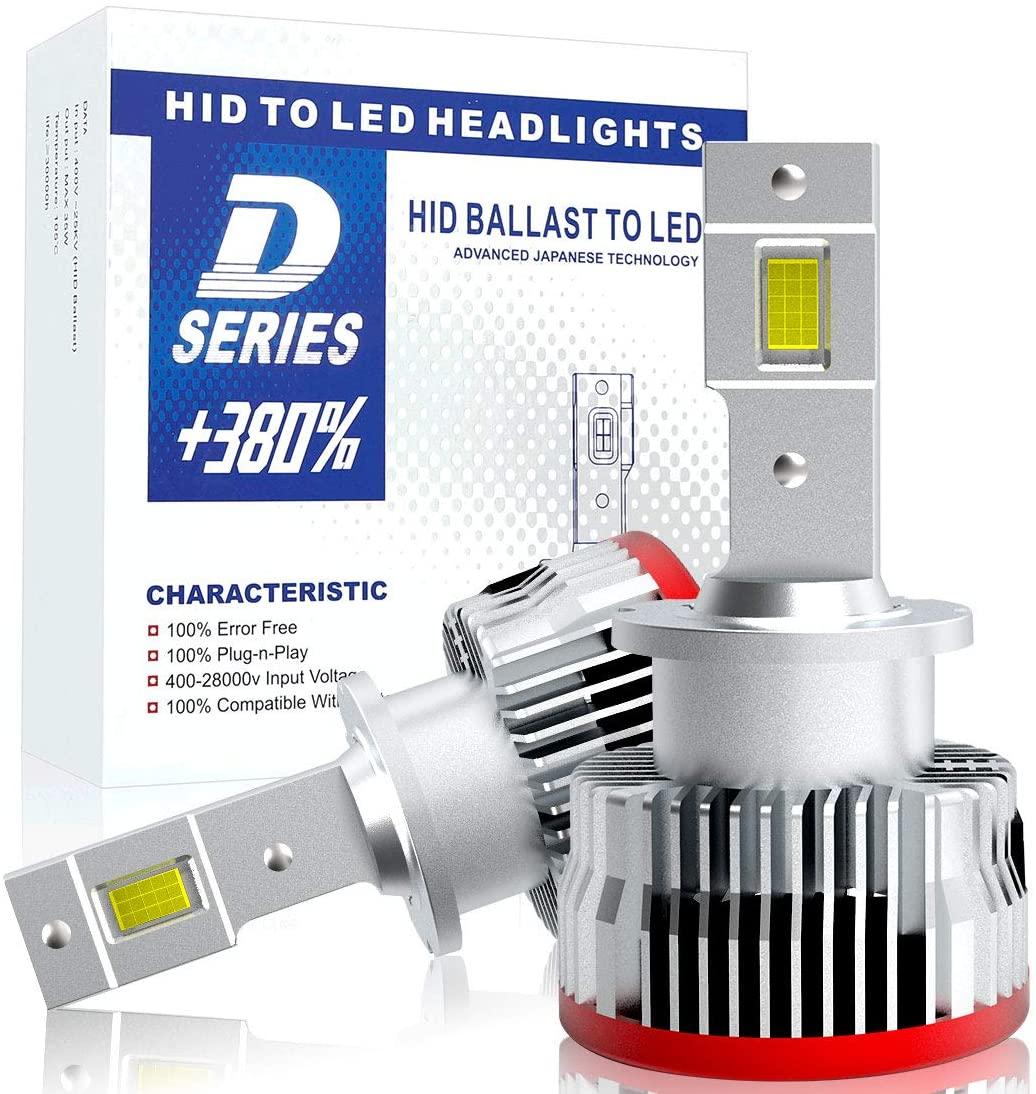 送料無料 d2s d2r d4s d4r led ヘッドライト 12V車用 車検対応 純正交換用 バルブ SUPAREE 加工不要 3年保証 16000lm 6500K 35W 限定モデル ledヘッドライト HIDを超えるLED LED化 秀逸