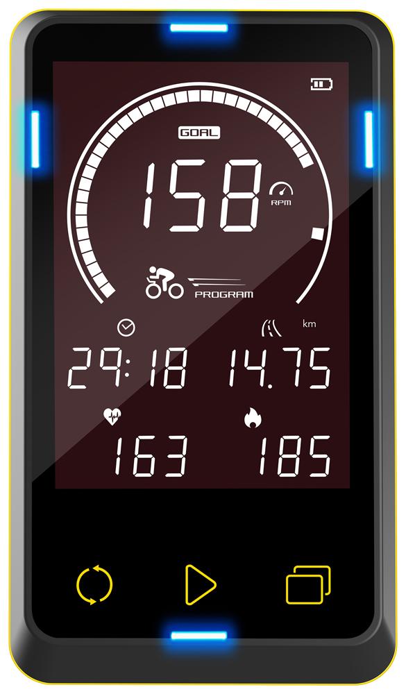 JOHNSON(ジョンソン)正規販売店 GR7専用オプションコンソール/フィットネスバイク スピンバイク ジョンソン スピニングバイク インドアバイク フィットネスバイク インドアサイクル 筋トレ ダイエット器具 健康器具 サイクリング