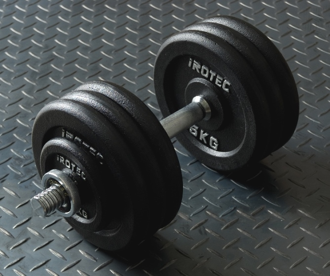 筋トレ グッズ 筋トレ器具 ダンベル【IROTEC(アイロテック)ダンベル35KGスペシャルセット(アイアン)】 筋力トレーニング ベンチプレス バーベル トレーニング器具 インクラインベンチ ウエイトトレーニング 20kg セット 可変式