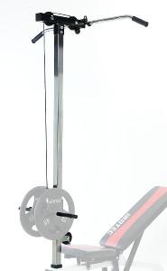 IROTEC(アイロテック)マルチポジションベンチ専用ラットオプション/ダンベル バーベル インクラインベンチ フラットベンチ ラットプルダウン 筋トレ 器具 トレーニング器具 ローイング