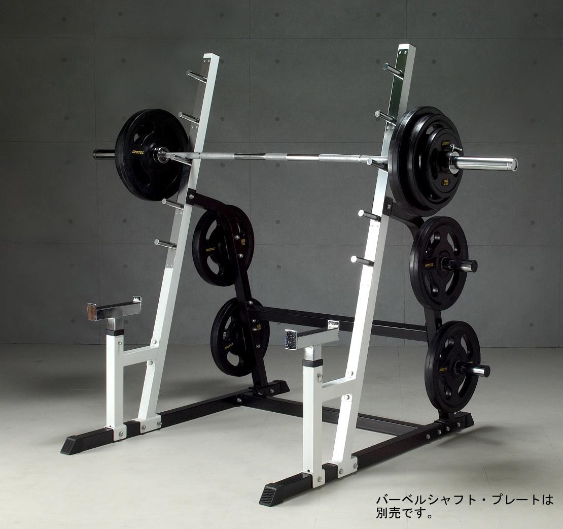 Super sports: irotec アイロテック power squat rack muscular