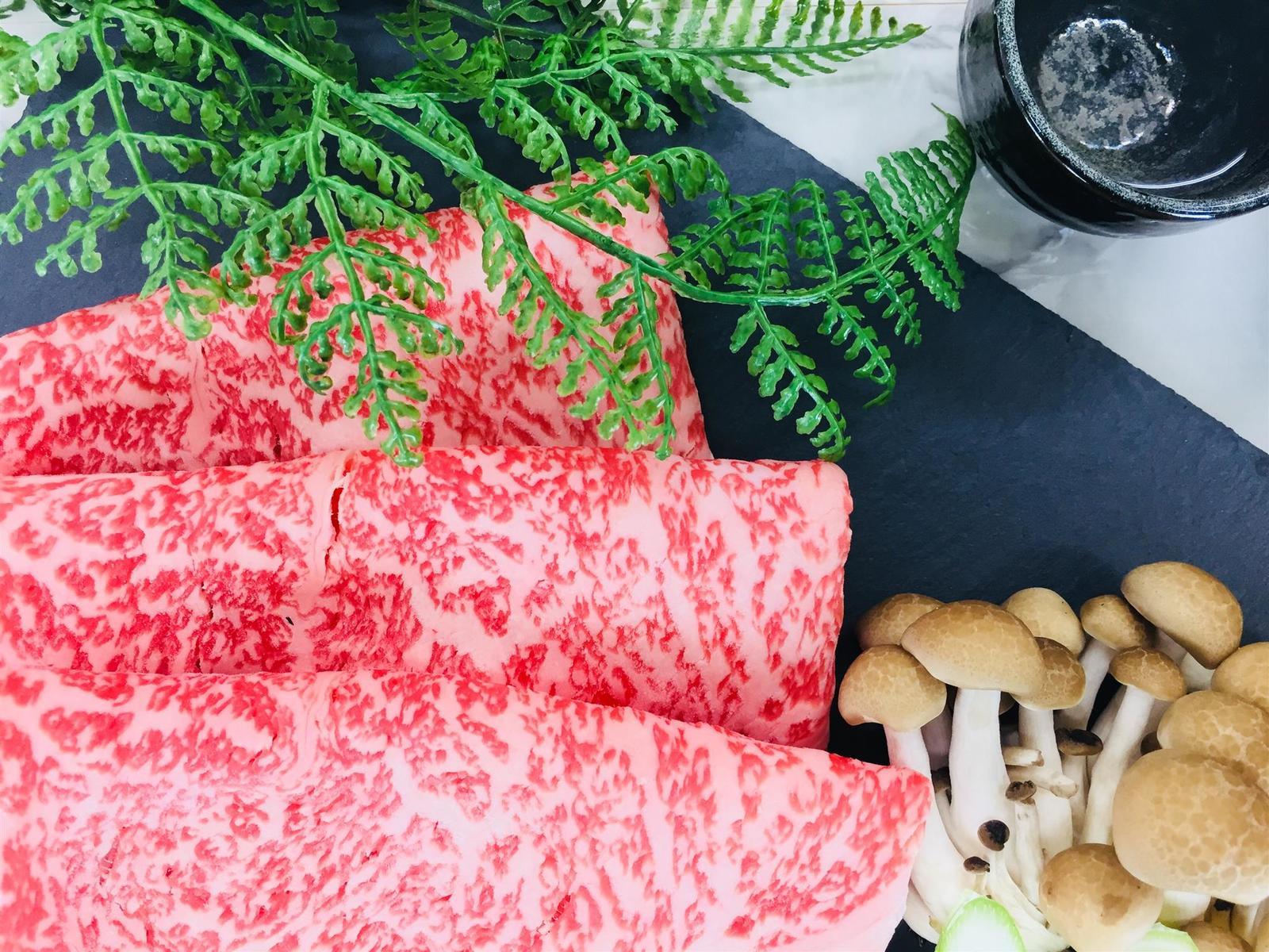 鹿児島県産黒毛和牛ロースすき焼き用500g